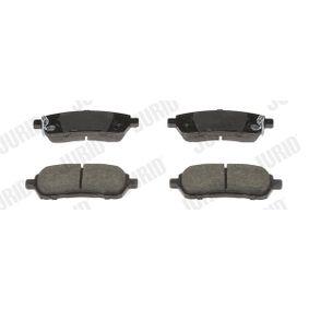 Bremsbelagsatz, Scheibenbremse Höhe 1: 52mm, Dicke/Stärke 1: 16mm, Dicke/Stärke: 16,5mm mit OEM-Nummer 24285