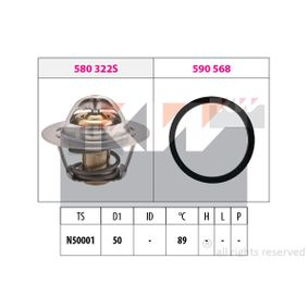Thermostat, Kühlmittel D1: 50mm mit OEM-Nummer 21200-00Q0B