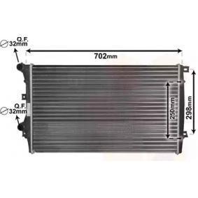 Радиатор, охлаждане на двигателя 58012206 Golf 5 (1K1) 1.9 TDI Г.П. 2008