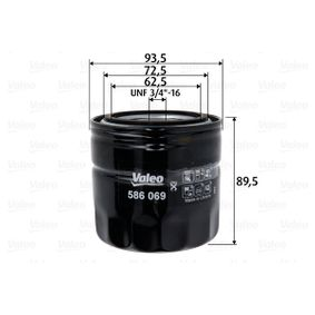 Ölfilter mit OEM-Nummer 5281 090