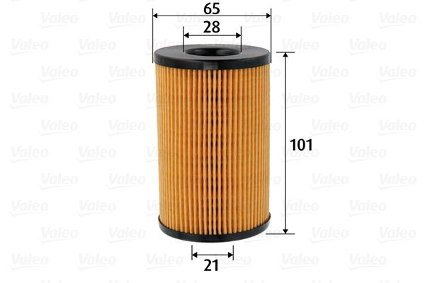 Oil Filter VALEO 586590 3276425865907