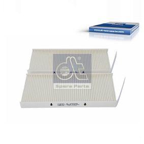 Filter, Innenraumluft Länge: 240mm, Breite: 108mm, Höhe: 20mm mit OEM-Nummer 95525119
