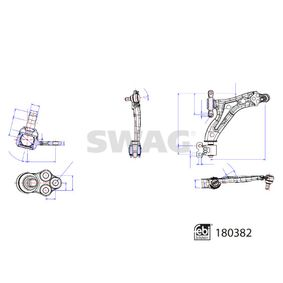 Bremsbelagsatz, Scheibenbremse Breite: 66,0mm, Dicke/Stärke 1: 14,5mm mit OEM-Nummer 7701205411