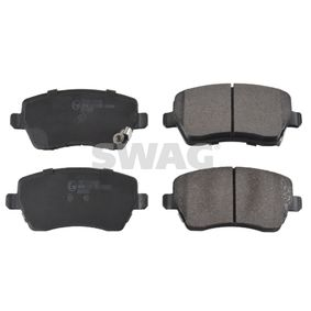 Brake Pad Set, disc brake Width: 52,6mm, Thickness 1: 16,6mm with OEM Number 55810 62J 31