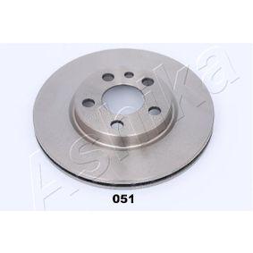 Bremsscheibe Bremsscheibendicke: 20mm, Ø: 257mm mit OEM-Nummer 517 49 124