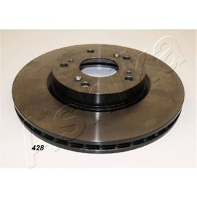 Brake Disc Brake Disc Thickness: 23mm, Ø: 282mm with OEM Number 45251TA0A01