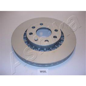 Bremsscheibe Bremsscheibendicke: 23,8mm, Ø: 255,8mm mit OEM-Nummer 9048 7402