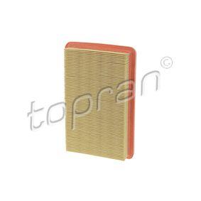 Luftfilter Länge: 261mm, Breite: 163mm, Höhe: 40mm, Länge: 261mm mit OEM-Nummer FS05-13Z40