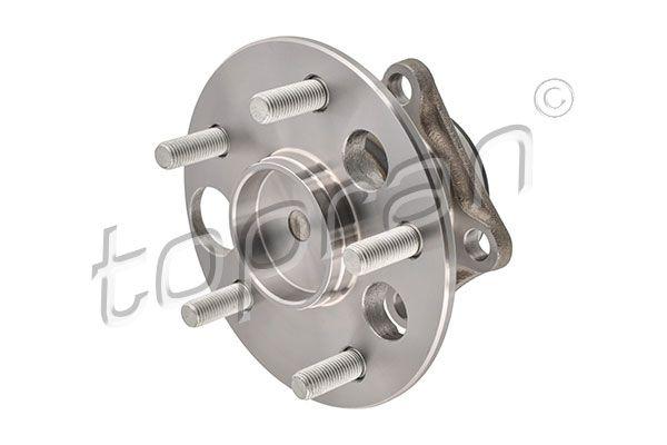 TOPRAN  600 162 Muelle neumático, maletero / compartimento de carga Long.: 440mm, Carrera: 171mm, Long.: 440mm