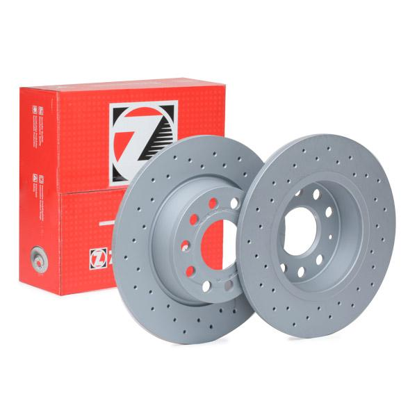 ZIMMERMANN SPORT COAT Z 600.3241.52 Bremsscheibe Bremsscheibendicke: 10mm, Felge: 5-loch, Ø: 272mm