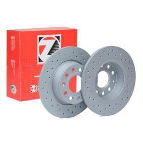 Bremsscheibe Bremsscheibendicke: 10mm, Felge: 5-loch, Ø: 272mm mit OEM-Nummer 5Q0615601D