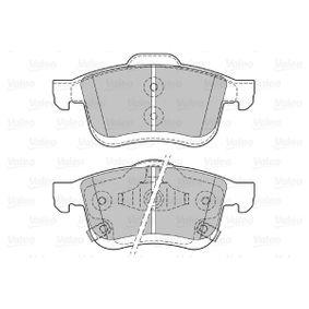 VALEO Bremsbelagsatz, Scheibenbremse 77366915 für FIAT, ALFA ROMEO, LANCIA bestellen