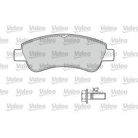 VALEO Brake Pad Set, disc brake 1637014580 for PEUGEOT, CITROЁN, DS acquire