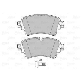 VALEO Kit de plaquettes de frein, frein à disque 8W0698451N pour VOLKSWAGEN, AUDI, SEAT, SKODA acheter