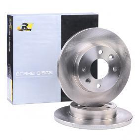 CLIO II (BB0/1/2_, CB0/1/2_) ROADHOUSE Bremsscheiben 6067.00