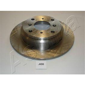 ASHIKA Комплект спирачни дискове 61-04-406