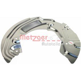 Bremsankerblech 6115063 METZGER