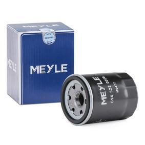 90541163 für OPEL, CHEVROLET, SAAB, DAEWOO, GMC, Ölfilter MEYLE (614 322 0000) Online-Shop