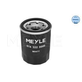 MEYLE Oil Filter 614 322 0000