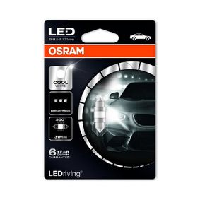 6497CW-01B Bulb, interior light from OSRAM quality parts