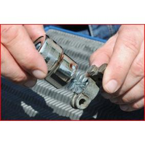 KS TOOLS Wire Brush, battery post / clamp cleaning (700.1197) at low price