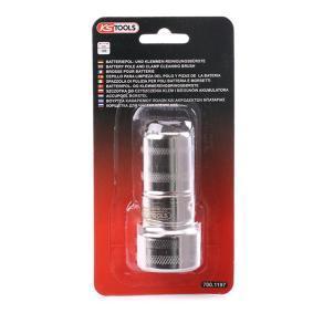 700.1197 Cepillo alambre, limpieza bornes batería de KS TOOLS herramientas de calidad