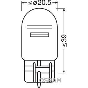 Крушка с нагреваема жичка, стоп светлини / габарити (7515-02B) от OSRAM купете