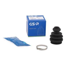 Faltenbalgsatz, Antriebswelle GSP Art.No - 760020 OEM: 1J0498201E für VW, AUDI, SKODA, SEAT kaufen