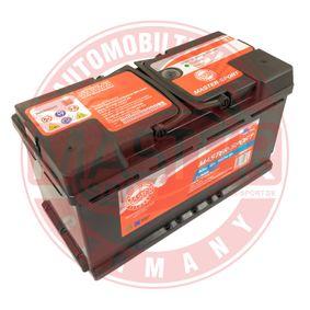 MASTER-SPORT Starterbatterie 8E0915105D für VW, MERCEDES-BENZ, OPEL, BMW, AUDI bestellen