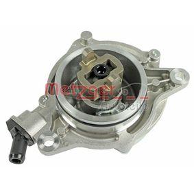 Unterdruckpumpe, Bremsanlage 8010015 METZGER