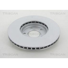 TRISCAN Bremsscheibe 40206JD00A für RENAULT, NISSAN, INFINITI bestellen