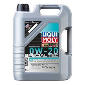 SAE-0W-20 Olio motore LIQUI MOLY 8421 negozio online