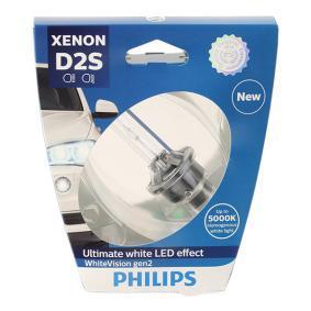 Glühlampe, Fernscheinwerfer PHILIPS Art.No - 85122WHV2S1 OEM: 8P0941004D für VW, AUDI kaufen