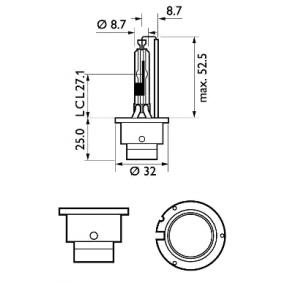85126XV2C1 Крушка с нагреваема жичка, фар за дълги светлини от PHILIPS качествени части