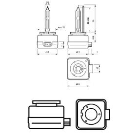 090011627 für , Glühlampe, Fernscheinwerfer PHILIPS (85415WHV2C1) Online-Shop