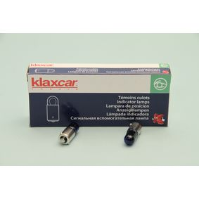 Крушка с нагреваема жичка, светлини на рег. номер (86309z) от KLAXCAR FRANCE купете