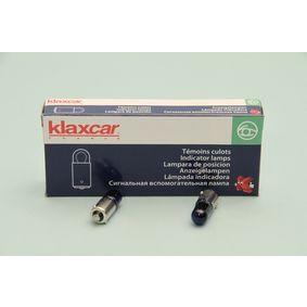 Bulb, licence plate light (86309z) from KLAXCAR FRANCE buy