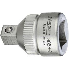 Zestaw adapterów powiększających, klucze zapadkowe 8858-2 HAZET