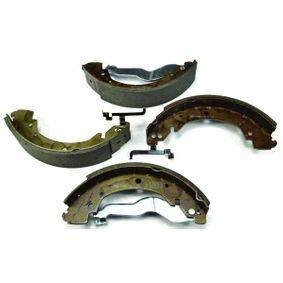 Bremsbackensatz HELLA Art.No - 8DB 355 001-281 OEM: 701609531 für VW, AUDI, SKODA, SEAT, VAUXHALL kaufen