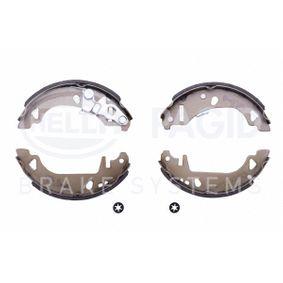 Bremsbackensatz HELLA Art.No - 8DB 355 001-421 OEM: 9945975 für FIAT, ALFA ROMEO, LANCIA kaufen