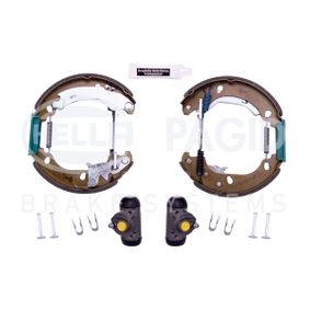 Drum brakes set 8DB 355 004-891 HELLA
