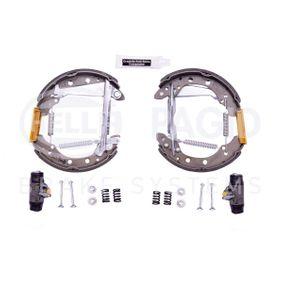 Bremsbackensatz HELLA Art.No - 8DB 355 005-021 OEM: 1H0609525 für VW, AUDI, SKODA, SEAT kaufen