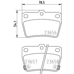HELLA Brake pad set 8DB 355 010-521