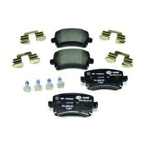 HELLA Bremsbelagsatz, Scheibenbremse JZW698451D für VW, AUDI, SKODA, SEAT bestellen