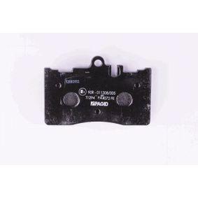 Bremsbelagsatz, Scheibenbremse HELLA Art.No - 8DB 355 017-061 kaufen