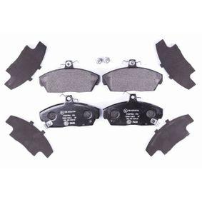 HELLA Комплект спирачно феродо, дискови спирачки GBP90313 за SKODA, ROVER, MG купете