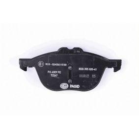 CV612K021BA für FORD, FORD USA, Bremsbelagsatz, Scheibenbremse HELLA (8DB 355 020-411) Online-Shop