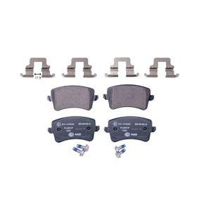 HELLA Bremsbelagsatz, Scheibenbremse 8K0698451E für VW, AUDI, SKODA, SEAT bestellen