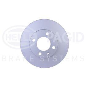 Bremsscheibe HELLA Art.No - 8DD 355 100-191 OEM: 6N0615301G für VW, AUDI, SKODA, SEAT kaufen