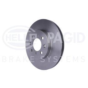 HELLA Спирачен диск 45251SK7A00 за HONDA, LAND ROVER, ROVER, MG, ACURA купете